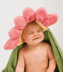 Personalized Hooded Towels for Children!   at Once Upon a Name.com