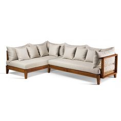 Find out all of the information about the Haldane Martin product: modular sofa RIEMPIE . Outdoor Sofa, Outdoor Furniture, Outdoor Decor, Modular Sofa, Fabric Covered, Linen Fabric, Furniture Design, Couch, Timber Frames