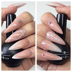 Odd obsession with stiletto nails. Big sharp pointy things. <3<3