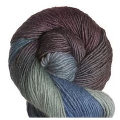 "100% Bluefaced Leicester Wool - Lorna's Laces Haymarket Yarn ""Winter is Coming"""