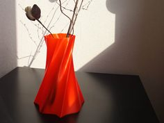 Vase by CES  http://thingiverse.com/thing:124175