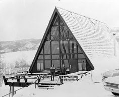 The early A-Frame at Steamboat Ski Resort.