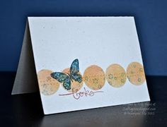 Stampin' Up ideas and supplies from Vicky at Crafting Clare's Paper Moments: Wings and things