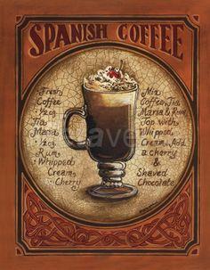 Spanish Coffee Fine-Art Print by Gregory Gorham at CoffeeDecor.com