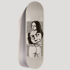 """FUCKING AWESOME """"DYLAN"""" 8"""" DECK SILVER"""