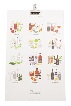 Give that cocktail lover in your life a little inspiration with the Stir Shake calendar, $20.