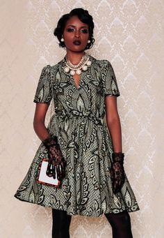 NOUVEAU la robe de Portia manches longues ou par DemestiksNewYork