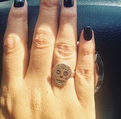 el anillo de calaverita de @ale_ediaz en Instagram #tanyamossyyo