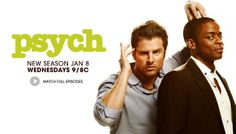 Wednesday, January 8th 2014 Psych is back!!!!