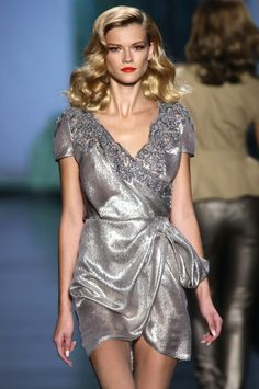 Kasia Struss at Christian Dior SS 10