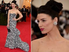 Jessica Pare In Michael Kors – 2014 Met Gala - Red Carpet Fashion Awards