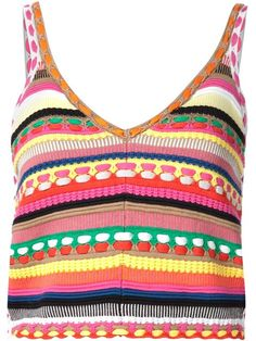 Shop Alice+Olivia 'Sandrine' crochet tank top- perfect for this year's festival season: http://fave.co/1P3LZhm