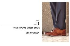 The Brougue Dress Shoe www.theteelieblog.com Dress it up. Dress it down. These shoes are the perfect foundation to build a smart business casual outfit. #TeelieBlog