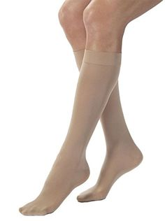 BSN Medical 115284 Jobst Opaque Compression Hose Knee High 3040 mmHG Closed Toe Large Natural *** Find out more about the great product at the image link-affiliate link