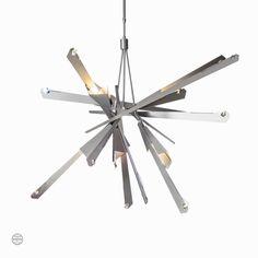 Nova Pendant – Hubbardton Forge Sputnik Chandelier, Modern Chandelier, Dark Smoke, Crystal Design, Lantern Pendant, Bronzer, Swarovski Crystals, Bulb, Ceiling Lights