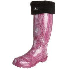 BEARPAW Women's Ashland Rain Boot Bearpaw. $32.49