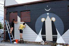 MISO, women of street art. (LP)