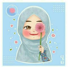 Your scarf is a vital piece while in the outfits of girls with hijab. Cartoon Drawings, Cute Drawings, Girl Drawings, Little Girl Cartoon, Little Girl Illustrations, Hijab Drawing, Islamic Cartoon, Cute Pastel Wallpaper, Anime Muslim