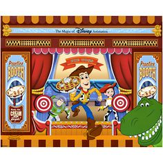 Woody and Friends ''Toy Story Mania'' Cel by Disney's Hollywood Studios Ink and Paint - Limited Availability