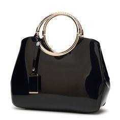 PASTE High Quality Patent Leather Women Bag Ladies Cross Body Messenger Shoulder Bag Handbags Women Famous Brands Bolsa Feminina
