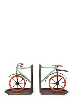 Bike Book Ends - Set of 2 by Foreside Home