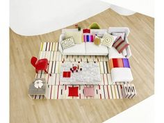 Vitra Suita: Small Chaise, for L-Shape Sofa – Designer Sofas - Elegant Bedroom Design, Elegant Living Room, Living Room Modern, Living Room Decor, Vitra Sofa, Wall Paint Colour Combination, Modern Sofa Designs, L Shaped Sofa, Contemporary Sofa