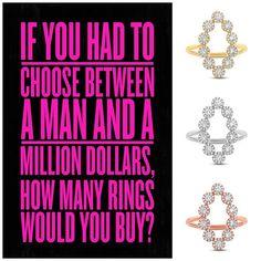 SHOP NOW at www.jenkdesignsny.com #diamond #rings #elegant #funky #love #inspiration