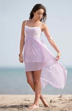 Style Know Hows: Lavander Hi-Lo Dress