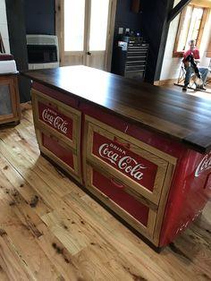 Antique Coca Cola Cooler | Towee Mountain Restorations
