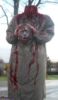 Headless Halloween Costume - Halloween Costume Contest