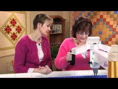 (194) Quilt It: Stitching Feathers with Kim Brunner - YouTube