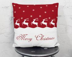 Cojines de Navidad Almohadas de vacaciones por wfrancisdesign