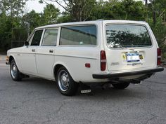 1972 Volvo 145E, four speed manual wagon.