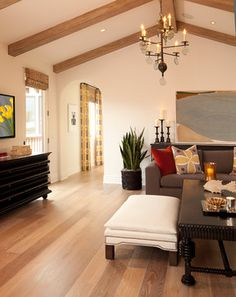 Jasmine 2 Family Room - mediterranean - family room - orange county - D for Design