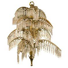 Palm Tree Chandelier ( 96,000 USD)