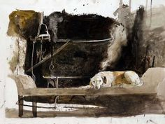 Study for Ides of March, Andrew Wyeth