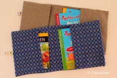 4 Freizeiten Pixi-Buch-Hüllen Minibuchhüllen nähen