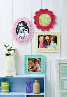 Fancy Picture Frames -free crochet pattern-