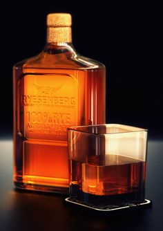 Ryesenberg hand bottled whiskey