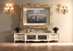 Tips for Decorating Around a Television Tips on how to decorate around TV. Frame around tv.Tips on how to decorate around TV. Frame around tv. Frame Around Tv, Frame For Tv, Picture Frame Tv, Diy Frame, Formal Living Rooms, Living Room Decor, Living Roon, Modern Living, Home Confort