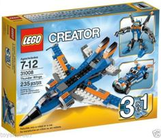 LEGO CREATOR 31008 Thunder Wings 3-In-1 NEW Factory Sealed