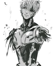 Genos - One Punch Man don't do that man the feels One Punch Man Anime, One Punch Man Sonic, Anime One, Anime Guys, Manga Anime, Hot Anime, Saitama, Shining Tears, Caped Baldy