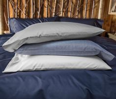 A Pair of Brooklinen Pillowcases in our cotton sateen.