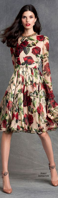 Marvelous 100+ Ideas About Floral Print Dresses https://fazhion.co/2017/03/22/100-ideas-floral-print-dresses/ In 2017 it looks like the hottest Dressl trend is floral dresses - pretty printed gowns every colour are taking over the aisles and altars.