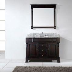 Standard Height Of Bathroom Vanity