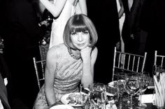 """""""What Does Vogue Editor Anna Wintour Want Next?""""    Check out this great Newsweek article: http://bkstge.at/WhatDoesAnnaWantNext  featuring my photo of Anna Wintour"""