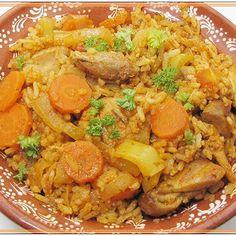 Egy finom Zöldséges piláf csirkecombbal ebédre vagy vacsorára? Zöldséges piláf csirkecombbal Receptek a Mindmegette.hu Recept gyűjteményében!