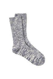 boot sock, BLUE MULTI MIX