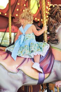 Childrens Spring Fashion Party Dress Girls Baby by NanaJustbananas, $65.00