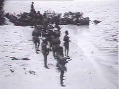 Aborigines on the beach. Government Printing Office 1 - Manuscripts, oral history & pictures - State Library of New South Wales Fleet Landing, Day Of Mourning, First Fleet, Oral History, Australia Day, South Wales, Printing, Beach, Pictures